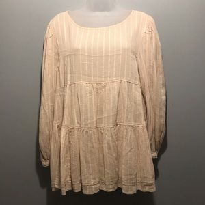 Peasant style blouse-NWOT